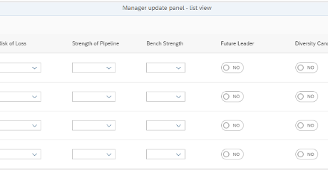 Manager Update Panel