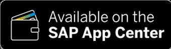 Available on the SAP App Center