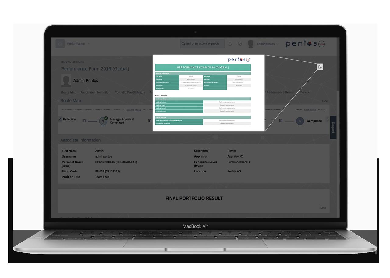 SAP SuccessFactors Accelerated Custom Print Layout Printing