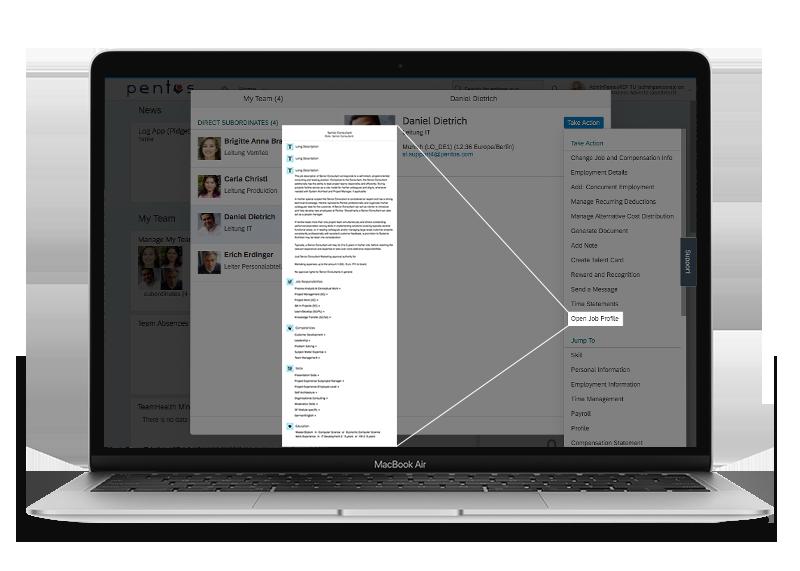 UX Enhancement: Job Profile Access