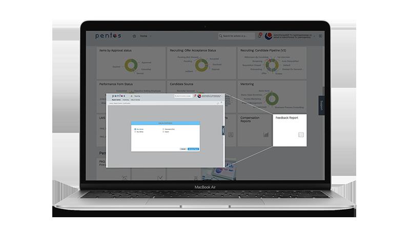 SAP SuccessFactors Report Quick Links Tile