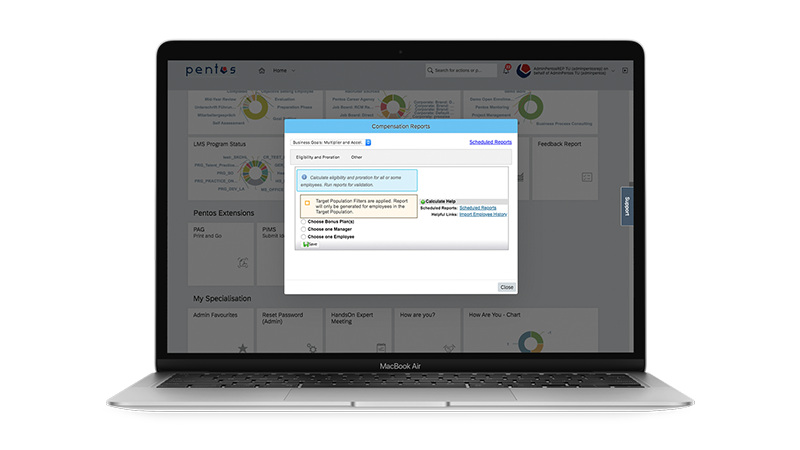 SAP SuccessFactors Easy Access to Variable Pay Reports