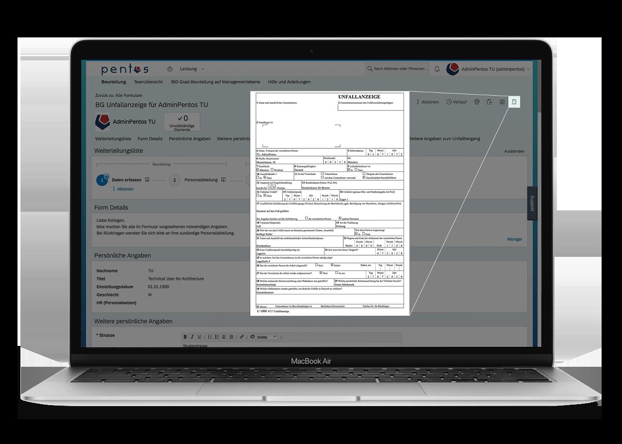 SAP SuccessFactors Form Report Quick Link