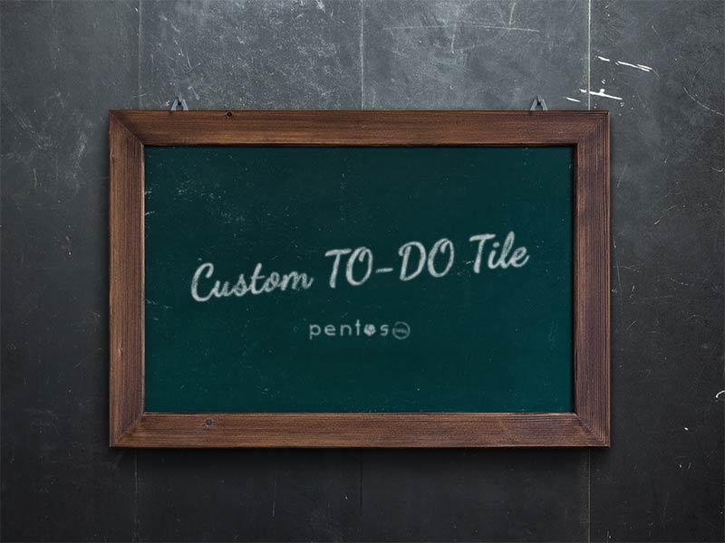 Custom To Do Tile Extension