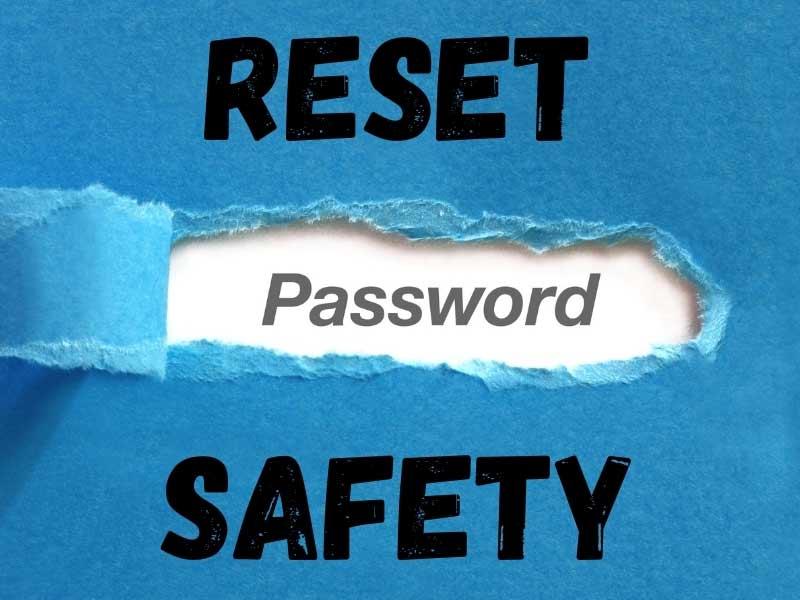 Reset Password Safety