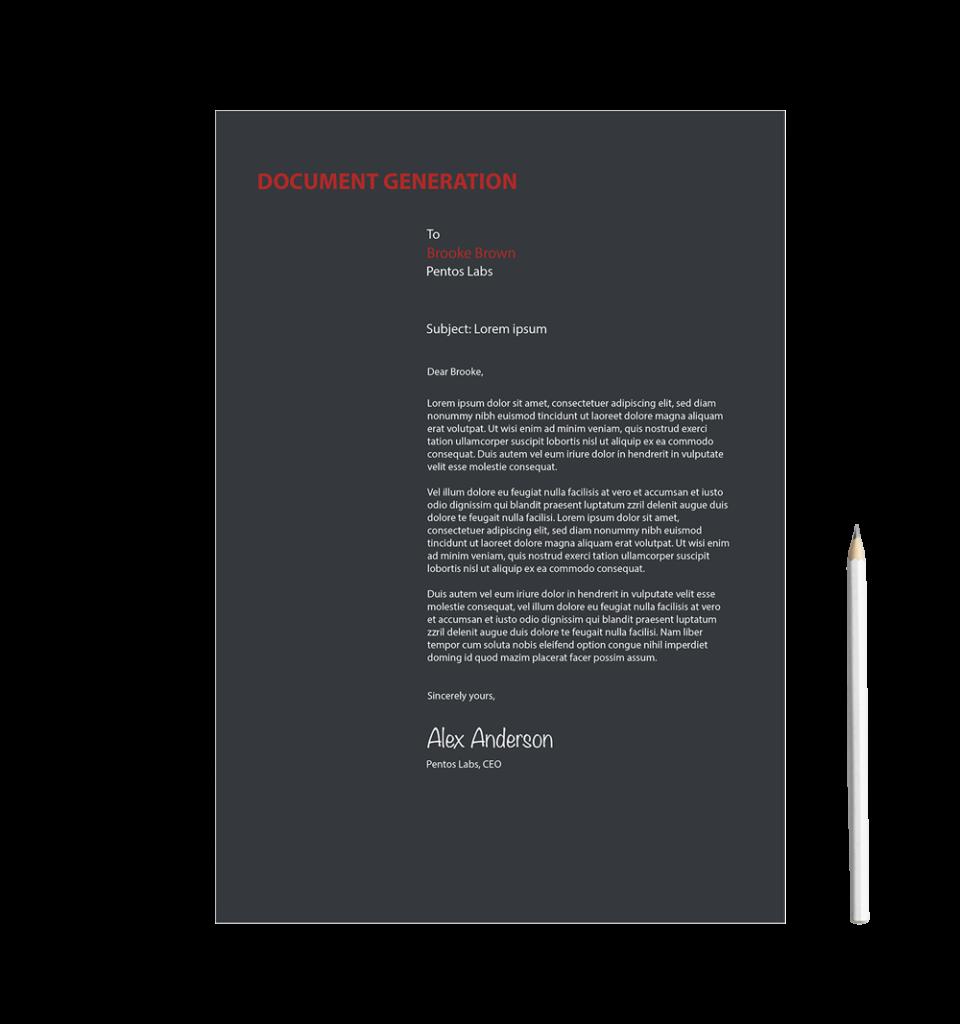 Document Generation