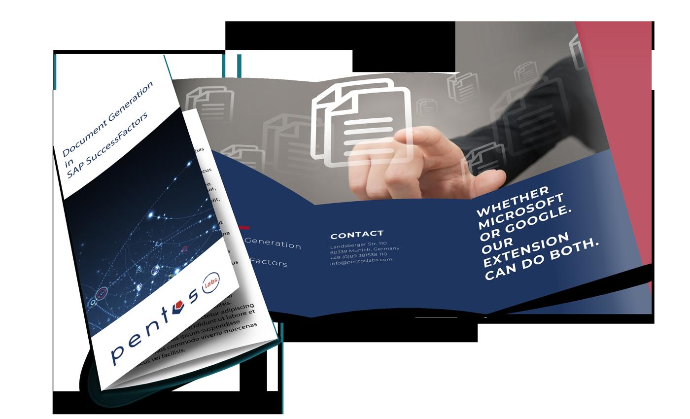 Document Generation SuccessFactors Pentos Labs Brochure